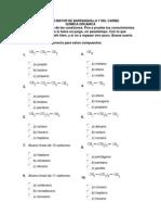 examen de química organica