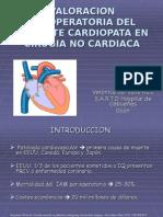 Valoracion Preoperatoria Del Paciente Cardiopata en Cirugia No