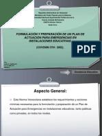 Plan de Emergencia en Centros Educativos