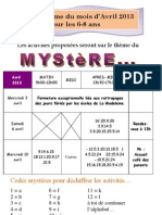 Planning 6-8 Ans Avril