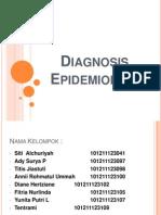 Diagnosis Epidemiologi