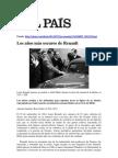 Renault y Su Apoyo Al Nazismo