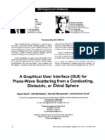 A Graphical User interface (GUI) for