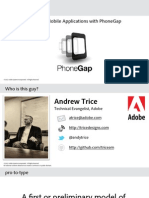Rapid Prototyping With PhoneGap