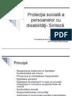 Protectia Persoanelor Cu Disabilitati