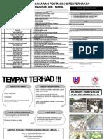 Senarai Kursus Usahawan Pertanian