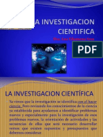 La Investigacion Cientifica. Clase II