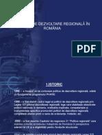 Politica de Dezvoltare Regionala