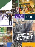 Downtown Detroit retail development plan