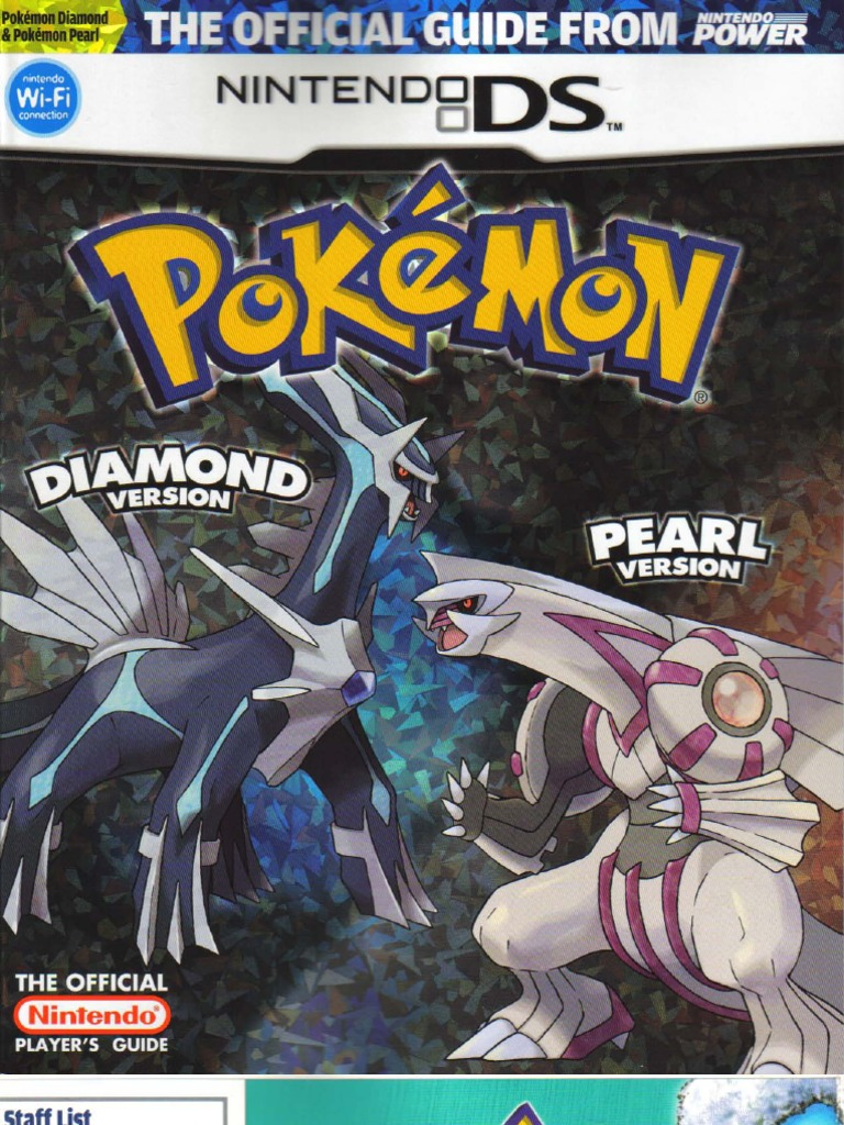 pokemon diamond pearl strategy guide rh scribd com Pokemon Card Book Pokemon Chapter Books
