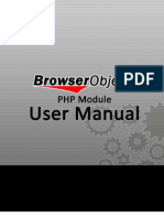 BrowserObject™ PHP