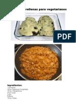 Berenjenas Rellenas Para Vegetarianos