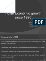 Indian Economy Since 1991 0.1 Group 2