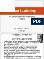 Servant Leadership III