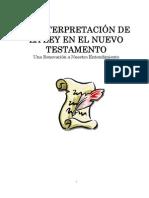 Interpretación de la Ley en el Nuevo Testamento