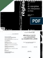 Regles de Calcul Et de Conception Des Charpentes en Bois1