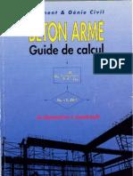 Beton Arme - Guide de Calcul