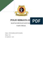 Folio Kerjaya 2013
