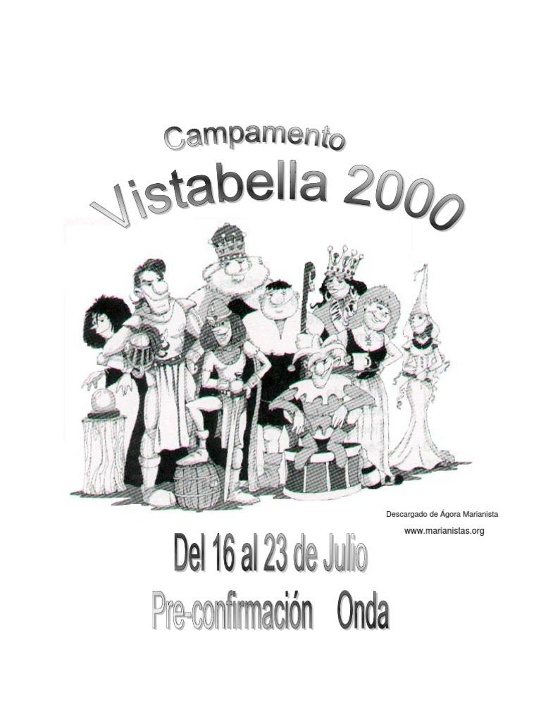 Campamento Pre-confirmacion 8 Dias Vistabella