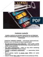 Parking Garaze