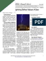 403 - David Wilcock - Lightning Strikes Vatican - A Geo-Syncronicity