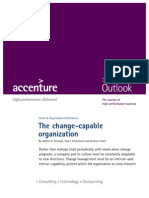 Accenture Outlook Change Capable Organization