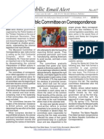 416 - The Maine Republic Committee on Correspondence