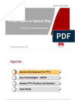 [Presentation] Huawei FTTx Product and Solution