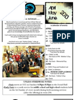 AprMayJune2013 Newsletter