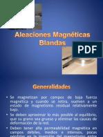 Aleaciones Magnéticas Blandas
