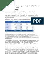 Iso Survey2011 Executive-summary