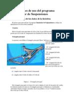 2Instrucciones de Uso Del Programa Simulador de Suspensiones