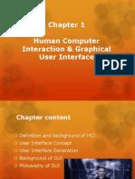 Chapter 1B GUI