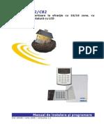CERBER C52&C82 Manual de Instalare v1 2