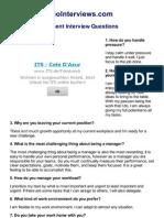 Go Interviews_ Top 50 Management Interview Questions