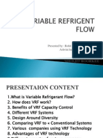 Variable Refrigent Flow
