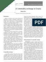 11Developmnnnnent of Commodity Exchange in Croatia