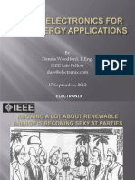 Power Electronics for Wind Energy Applications
