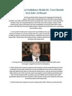 Mutiara Ilmu Dari Fadhilatus Sheikh Dr. Yusri Rushdi Syed Jabr Al-Hasani