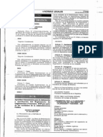 D. S. Nº 043-2006-PCM (Lineamientos ROF).