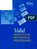 Valid Analytical Methods & Procedures