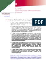 Communiqué de Presse Plan Investissement Logement_27032013