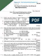 Microprocessors Jan 2010