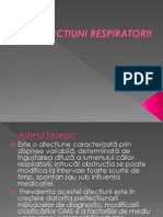 afectiuni respiratorii