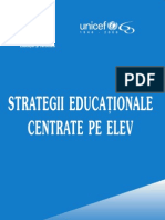 Strategii Educationale Centrate Pe Elev