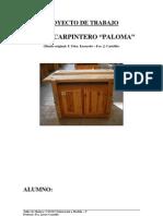3 Proyecto Trabajo Planos Banco Carpintero Paloma Madera