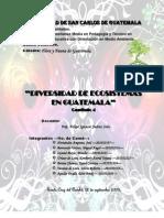 Diversidad de Ecosistemas en Guatemala-Actual