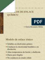 MODELOS DE ENLACE QUÍMICO