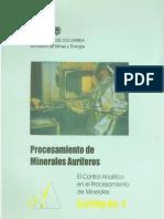 Procesamiento de Minerales Auriferos