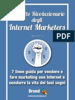 Libretto Rivoluzionario Degli Internet Marketers
